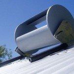 Cheap rooftop wind turbine powering homes
