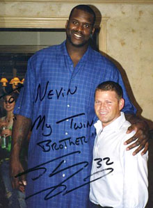 Nevin Shapiro Picture with Shaq