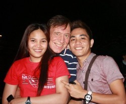 Retired Dutchman and his Filipino friends