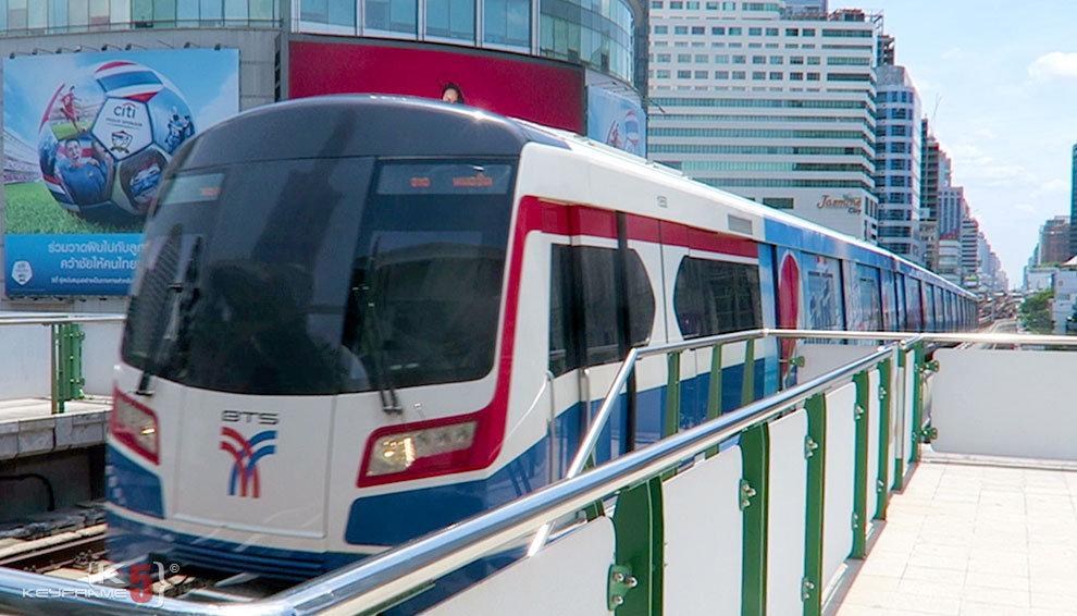 BTS (skytrain) in Bangkok