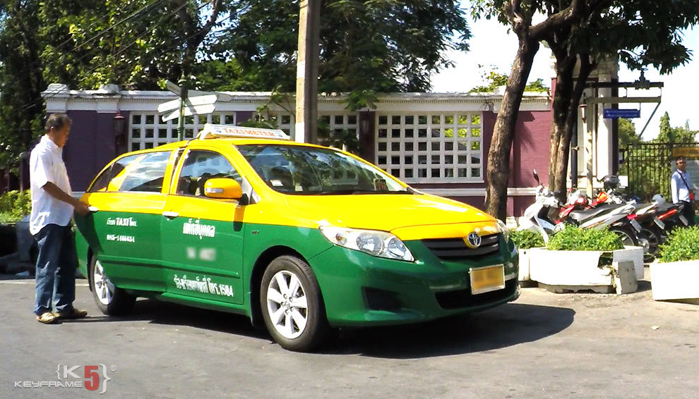 Meter Taxi in Thailand