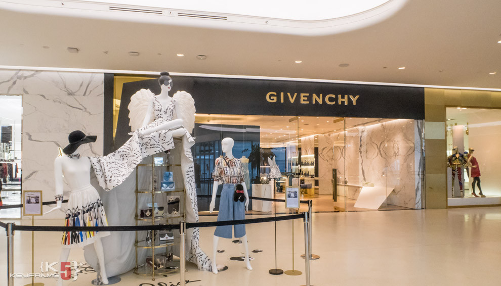 Givenchy at Central Embassy in Bangkok, Thailand