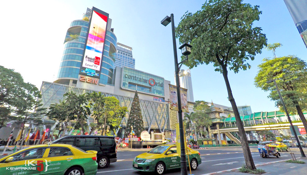 CentralWorld in Bangkok Thailand - The largest shopping complex in Thailand!
