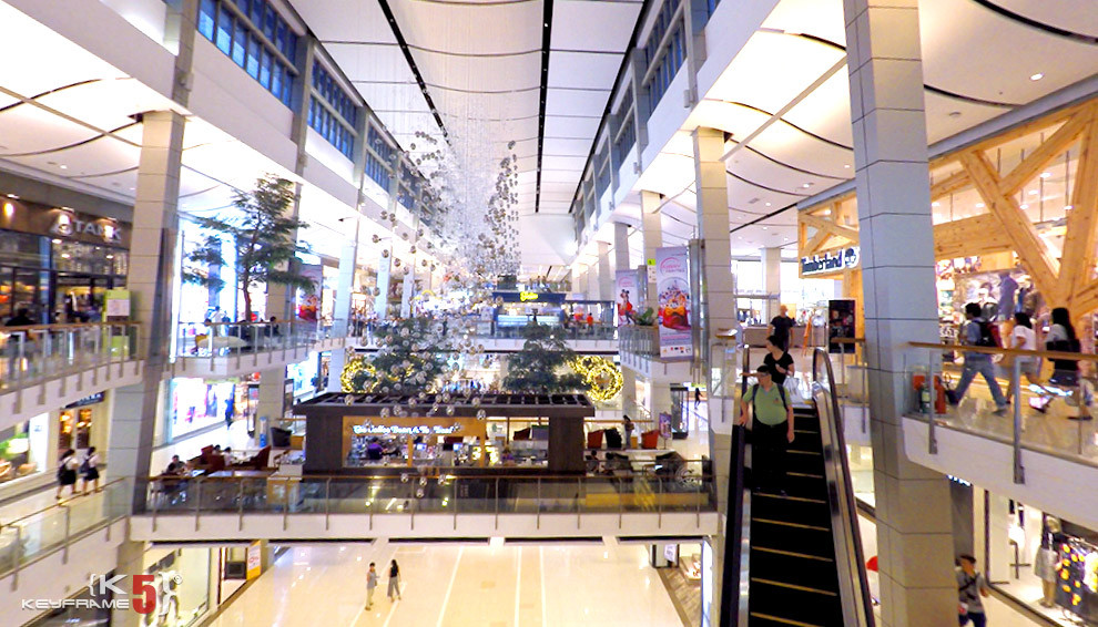 Interior of CentralWorld
