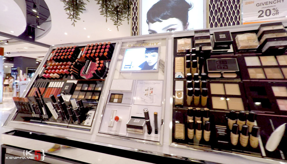 Beauty and cosmetics at CentralWorld