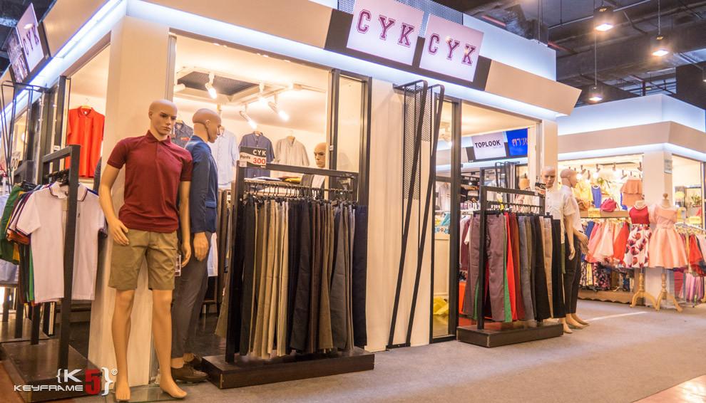Men fashions, Bangkok Thailand