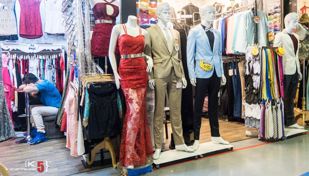 Women and men fashions, Bangkok Thailand
