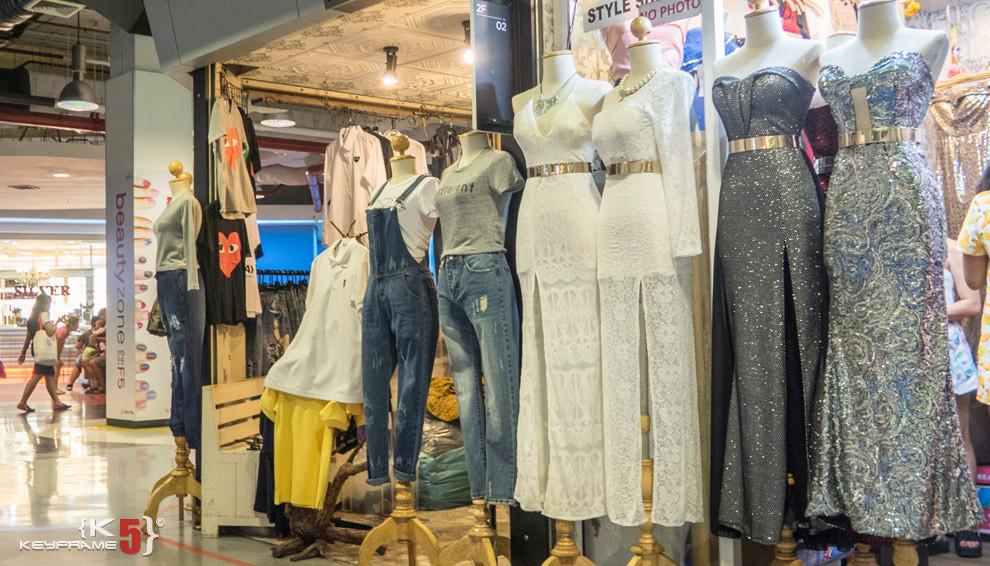 White dress, Bangkok Thailand