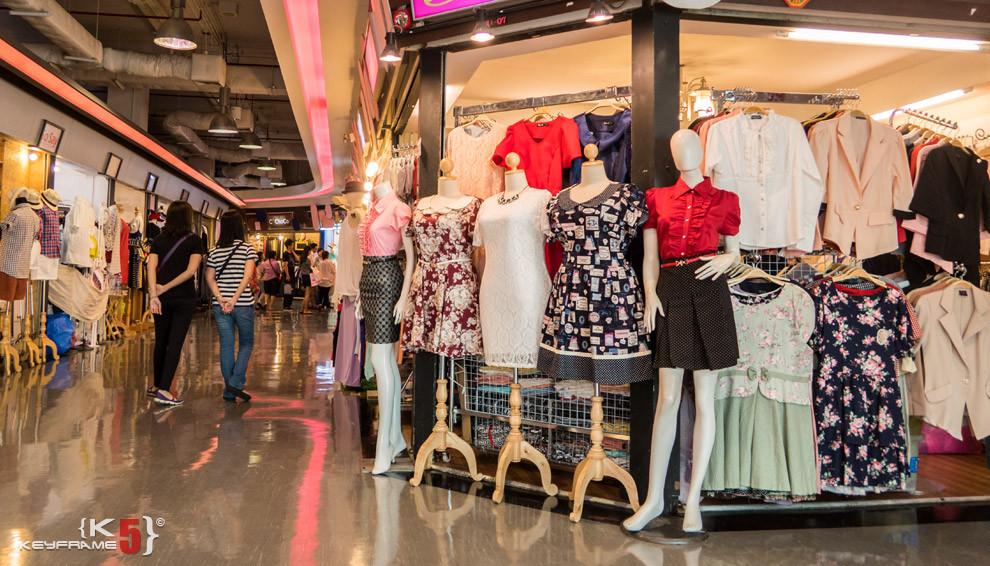 Skirts and dresses, Bangkok Thailand