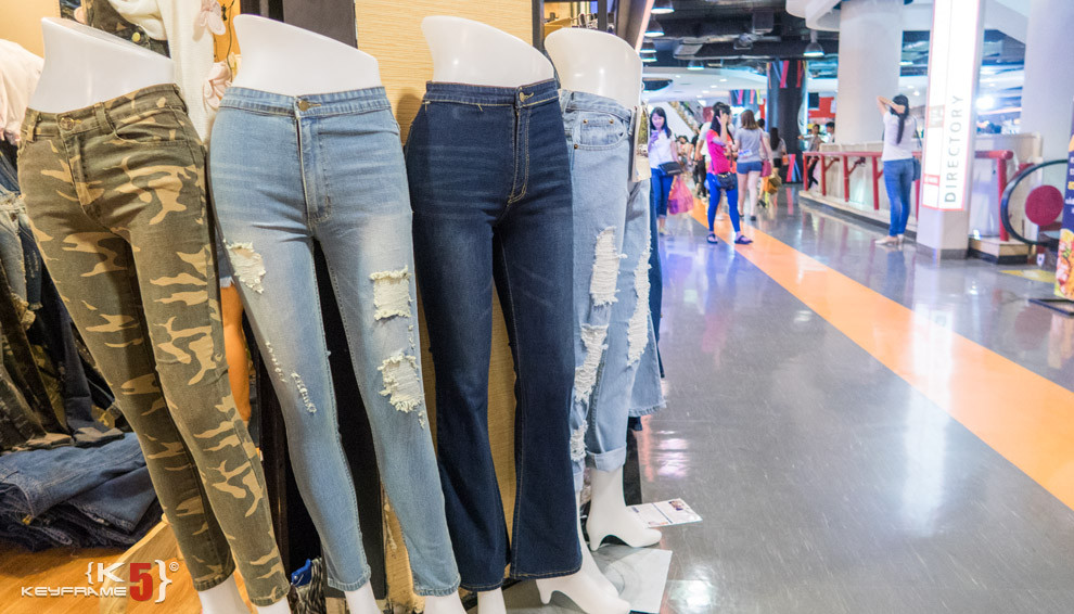 Women jeans, Bangkok Thailand