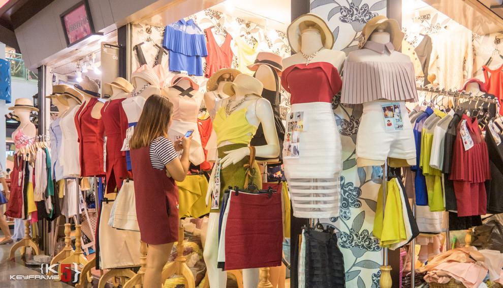 More tops and skirts, Bangkok Thailand