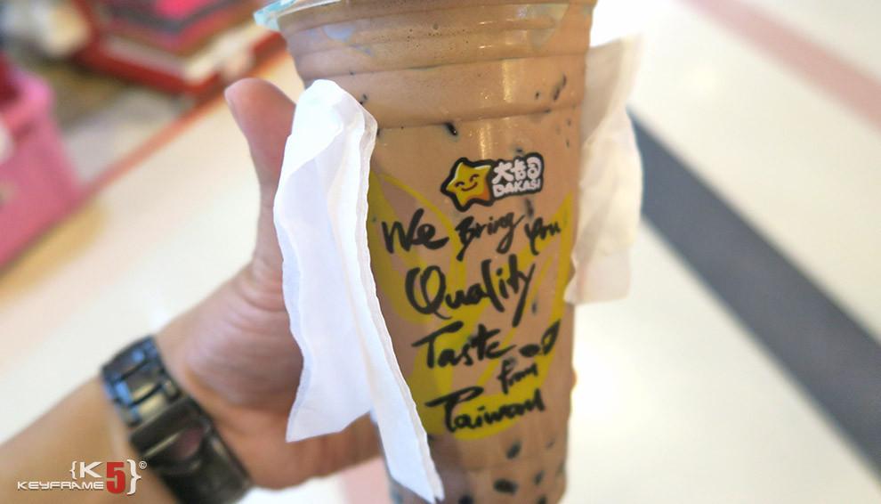 ฿50 THB - Chocolate ice bubble tea