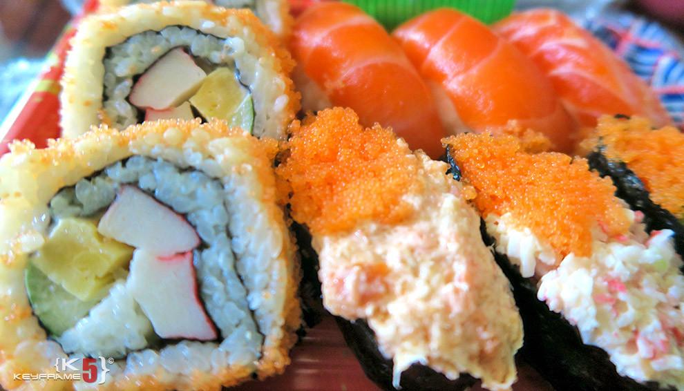 ฿99 THB - Sushi in Bangkok
