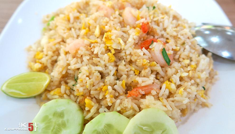 ฿55 THB - Fried rice