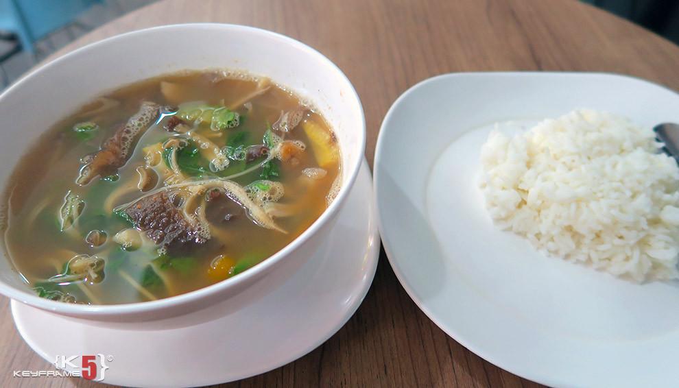 ฿39 THB - Mushroom soup