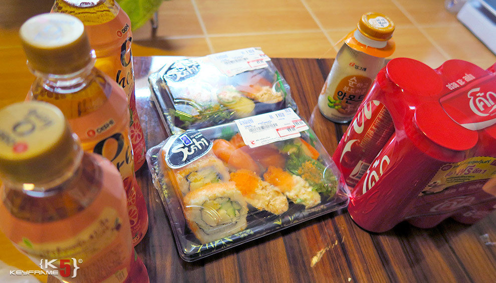 ฿283 THB - Sushi