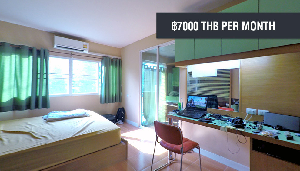 Cost of this apartment is ฿7,000 THB per month
