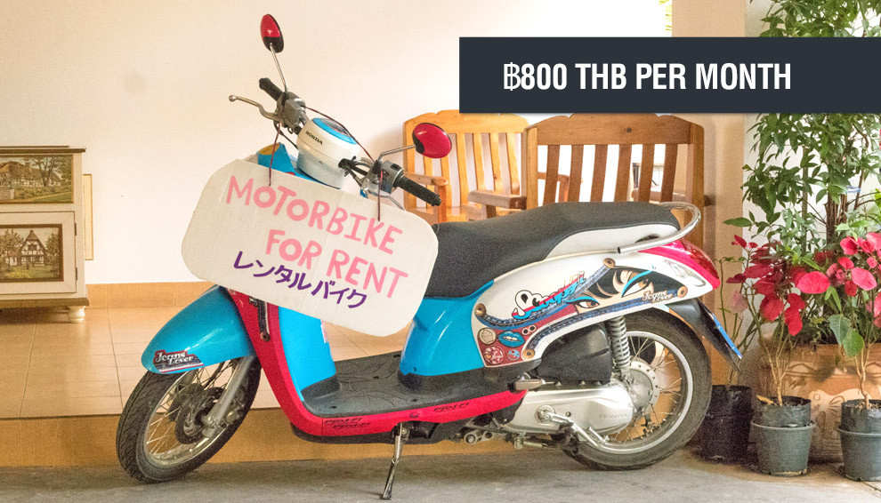 Cost of living in Bangkok - Cost of transportation is ฿800 THB per month