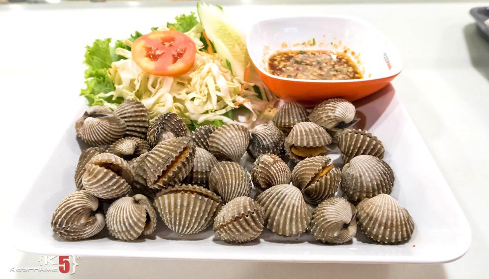 ฿80 THB - Thai semi raw clams