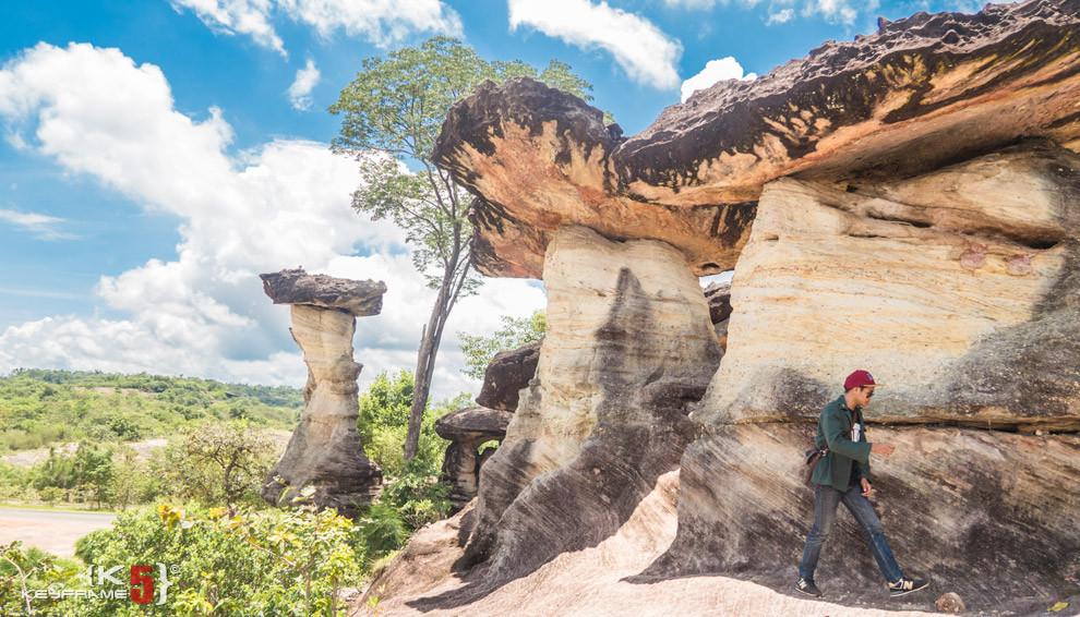 Sao Cha Liang - translate to rock pillars