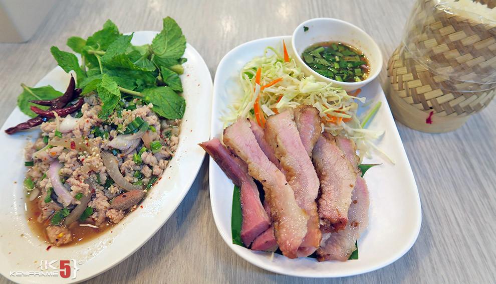 ฿235 THB - Isan food in Bangkok