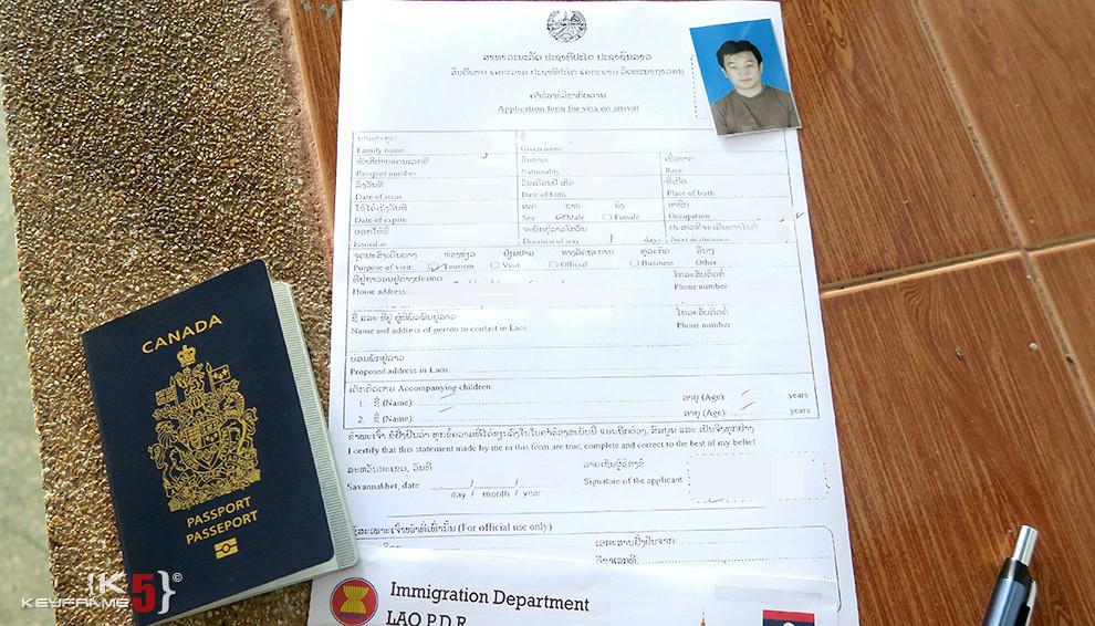 Visa On Arrival To Laos Keyframe5