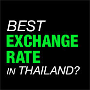 Pattaya Vs Bangkok, Suvarnabhumi Airport – Exchange Rate