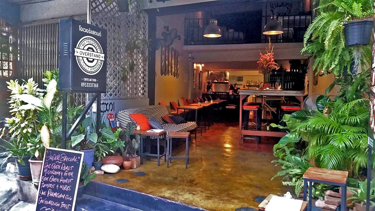 Overstand Coffee & Breakfast, Chiang Mai