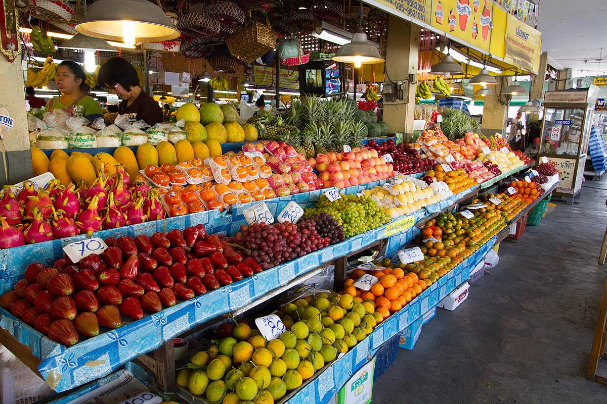 Siri Wattana Market, Chiang Mai