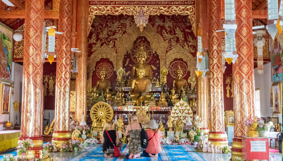 Inside Chiang Mai Temple