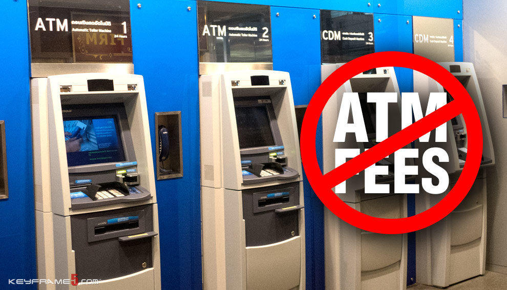 How to avoid ATM fees in Thailand