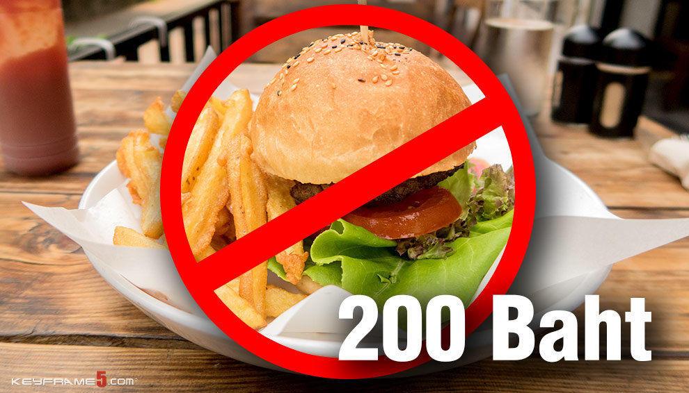Avoid eating western food