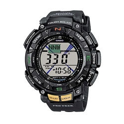 Casio watch with digital compass
