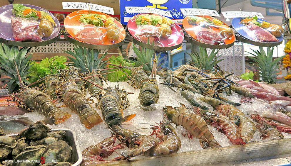 Best seafood Thailand