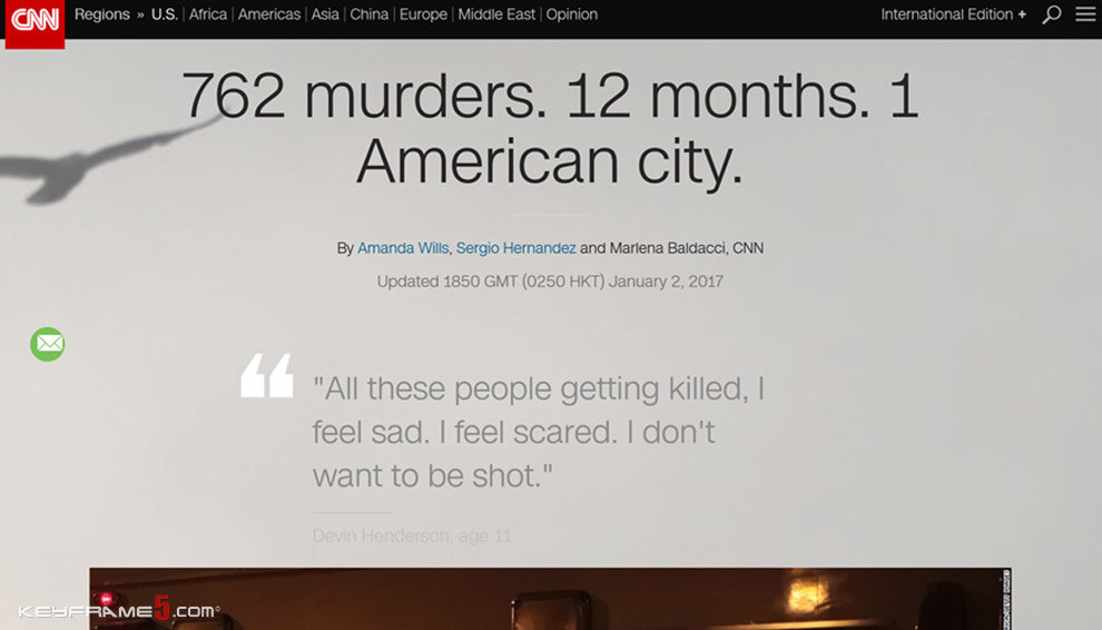 762 murders. 12 months. 1 American city.