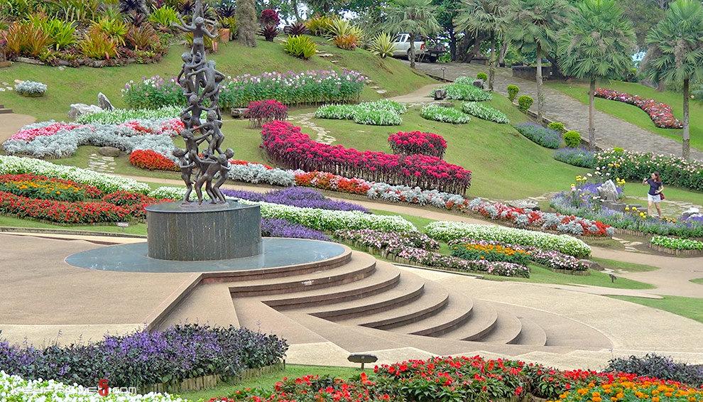 Doi Tung Royal Villa in Chiang Rai