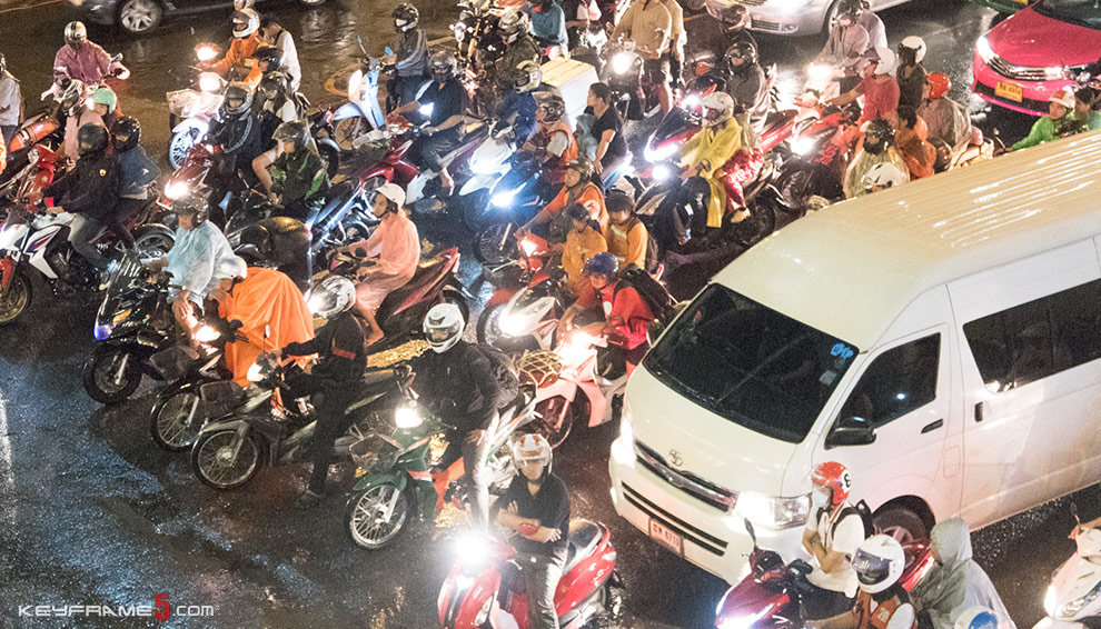 Things to be careful of in Thailand - #1 Traffic