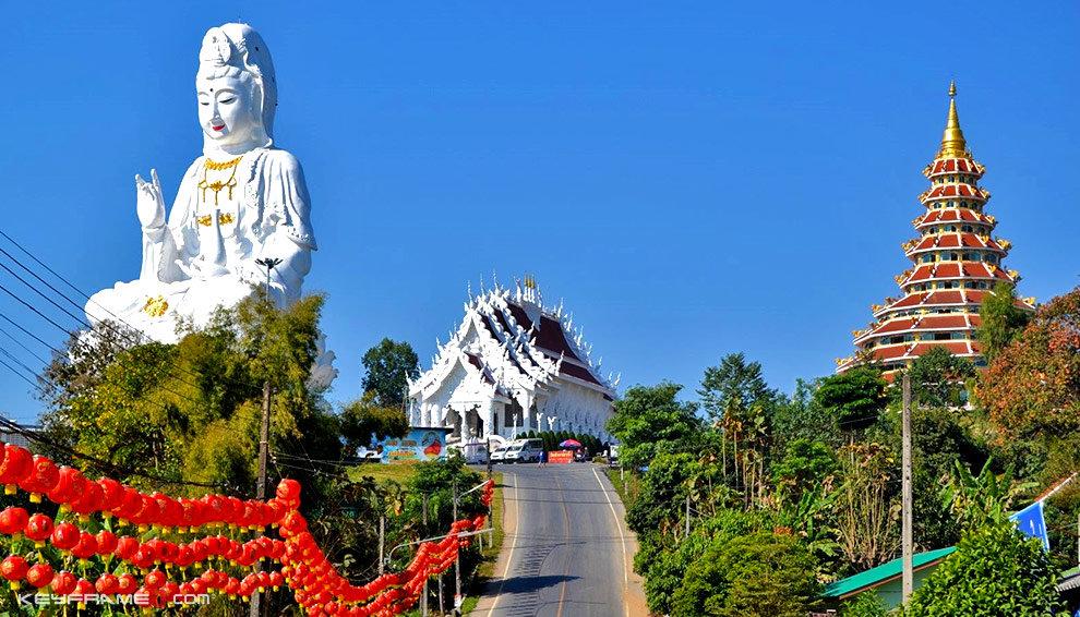 #1 Things To Do In Chiang Rai - Wat Huai Pla Kung in Chiang Rai