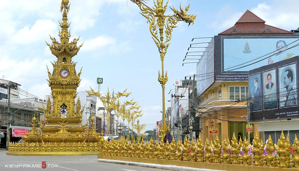 Clock Tower in Chiang Rai