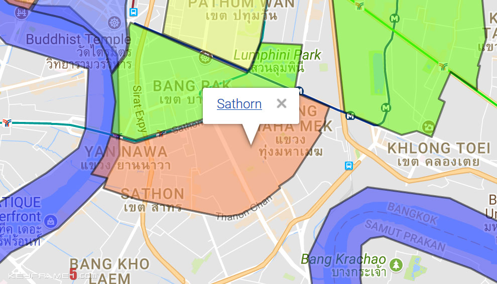 Sathorn Map