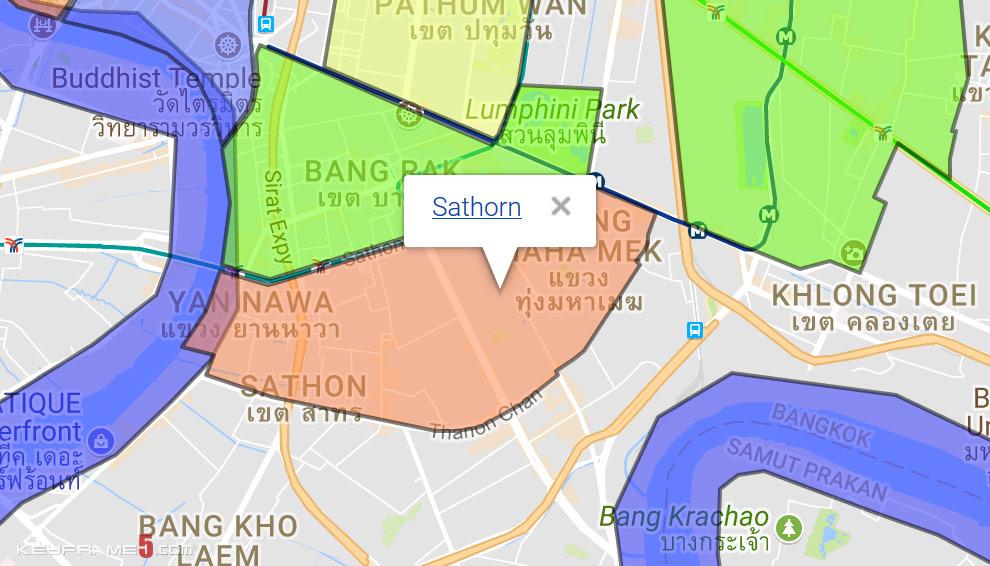 Sathorn Map