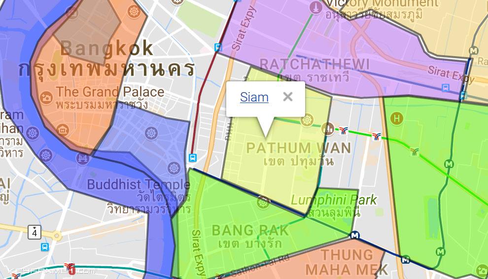 Siam Map