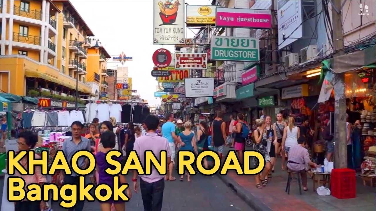 Thailand Tourist Trap #1 - Khao San Road, Bangkok