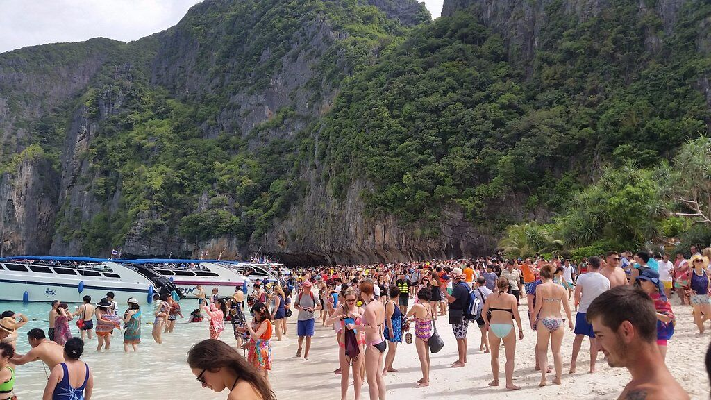 Thailand Tourist Trap #5 - Maya Bay