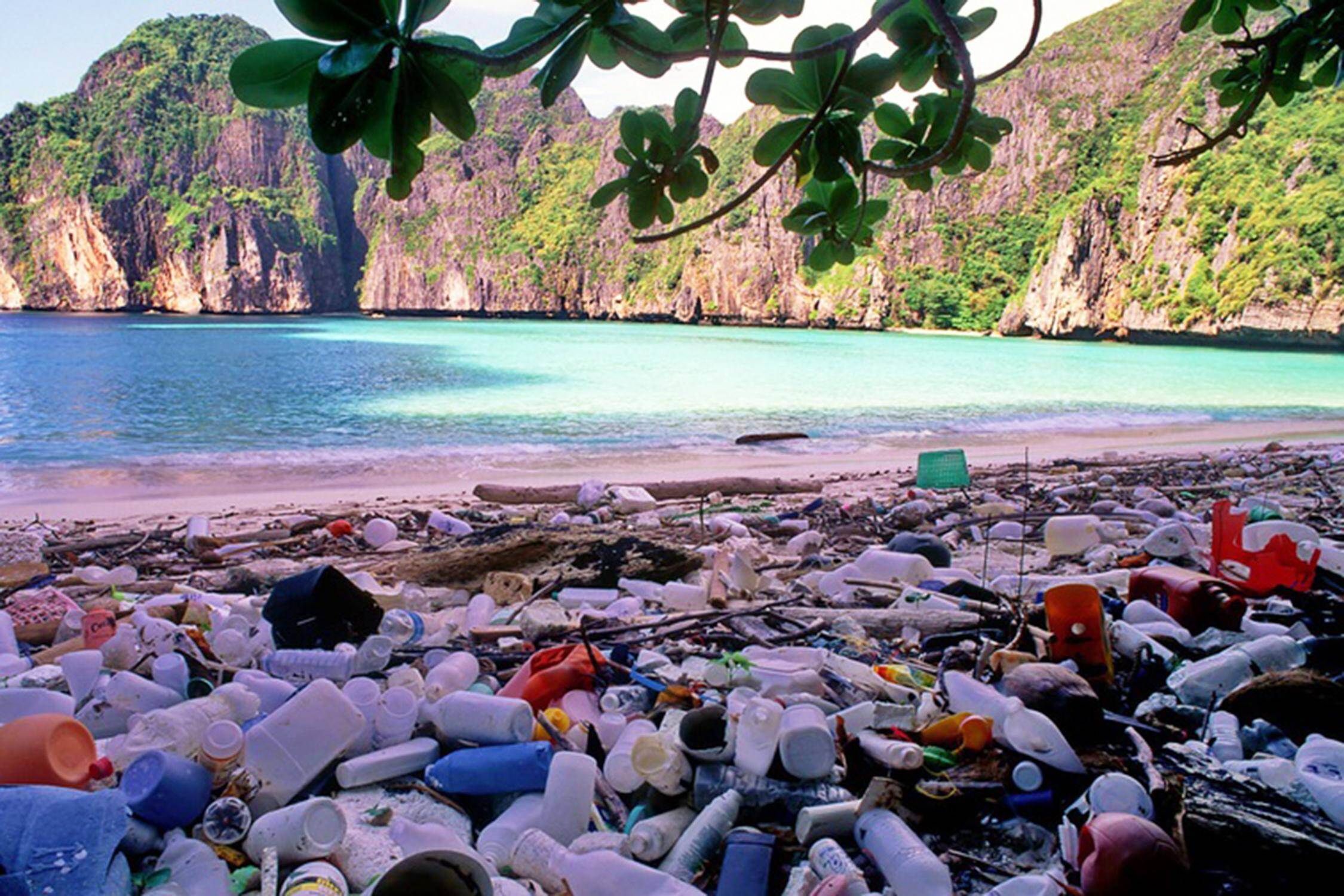 Thailand Tourist Trap #5 - Maya Bay Garbage