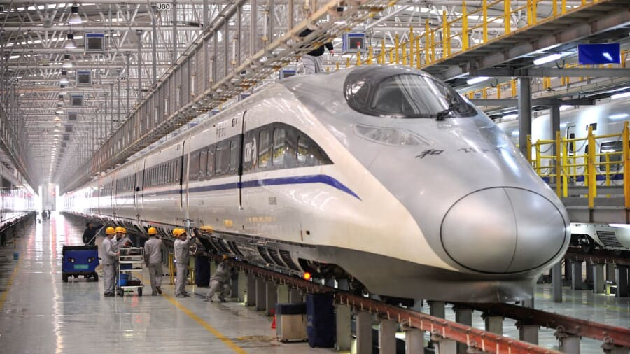 The bullet trains are coming to Thailand