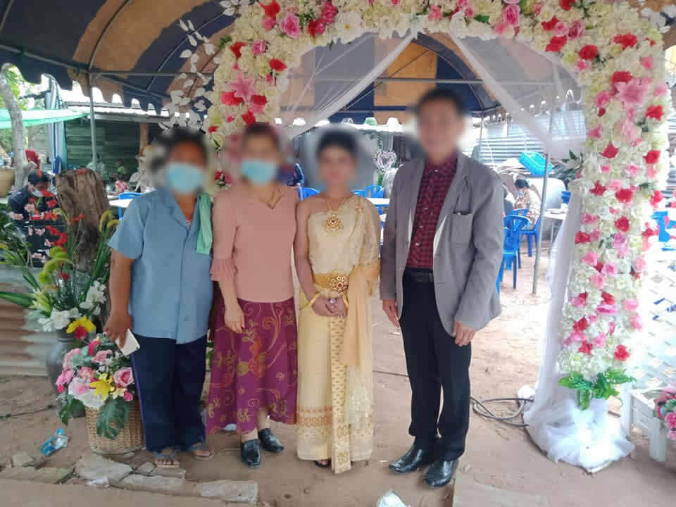 Thai wedding, The bridegroom and his family did not show up at the wedding