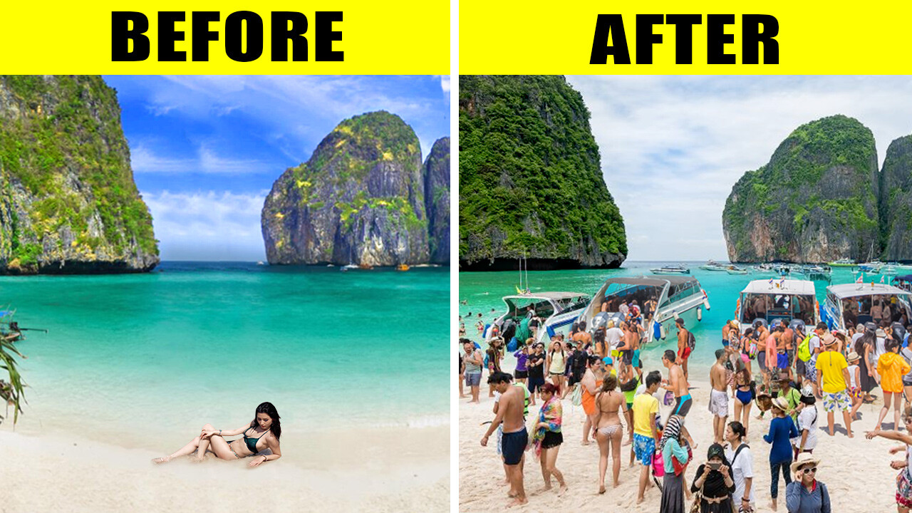 Maya Beach remains close