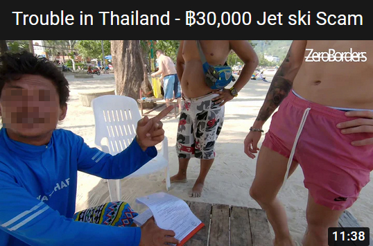 The Jet Ski Scam In Thailand and How To Avoid Them