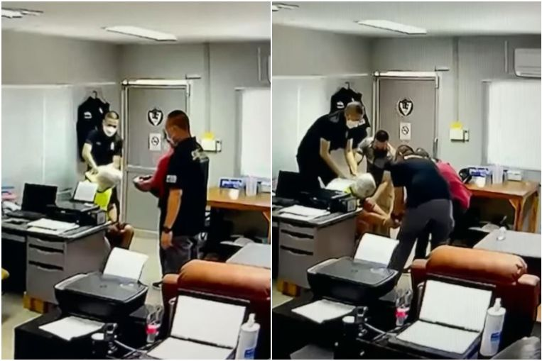 Leak video of Thai police torture and killing of a drug suspect in Thailand.